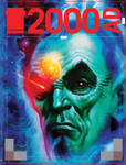 Tharg 2000ad cover by LiamSharp