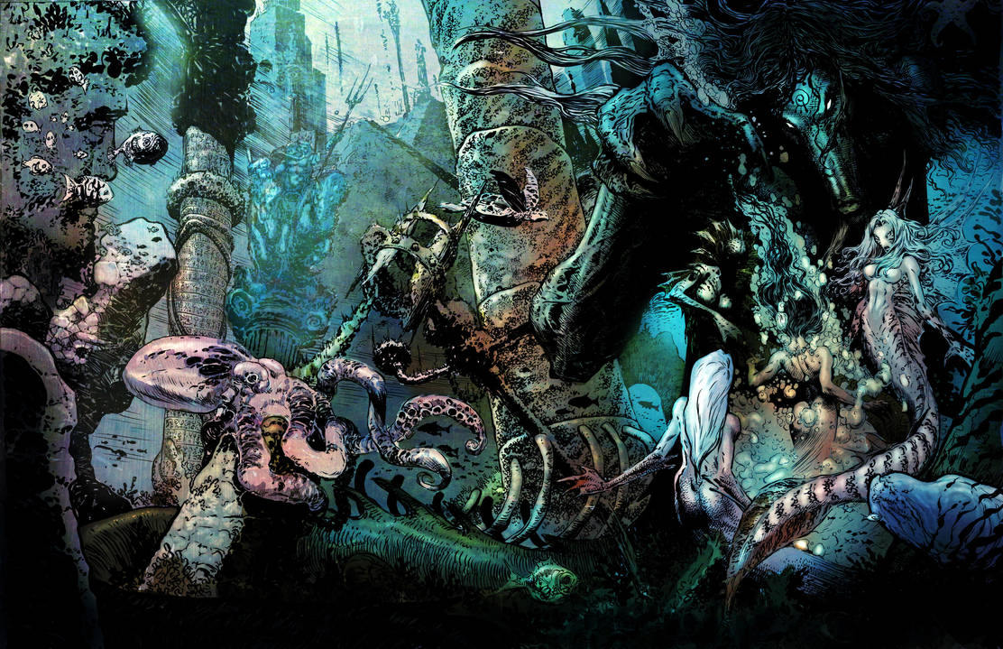 Manthing spread by LiamSharp