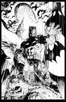 Jim Lee Batman inks finished by LiamSharp