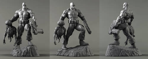Captain Stone sculpt! by LiamSharp