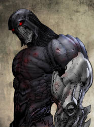 Design for major new character in Cap Stone v.2 by LiamSharp