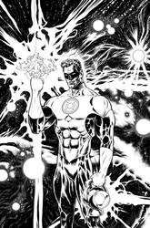 The Green Lantern issue 1 cover by LiamSharp