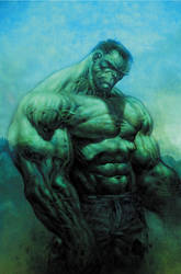 Sullen Hulk by LiamSharp