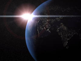 Planet Earth by CommanderZ