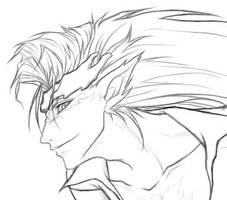 Pantera lineart - detail by meili-melee