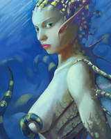 Mermaid Final by mattwatier