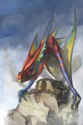 Kite Dragon by mattwatier