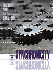 Synchronicity Poster by lifeinedit