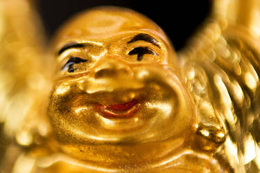 Golden Buddha II by lifeinedit