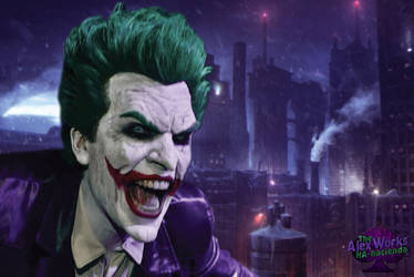 Joker Arkham Origins Cosplay by AlexWorks