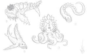 Mythological beasts 12 by Dragon-Storm