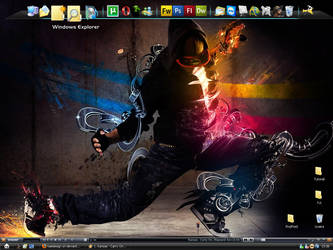 My Desktop by kaedesign