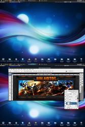 My Desktop Jan 2010 by kaedesign