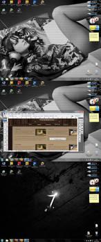 Desktop jan 2010 Windows Seven by kaedesign