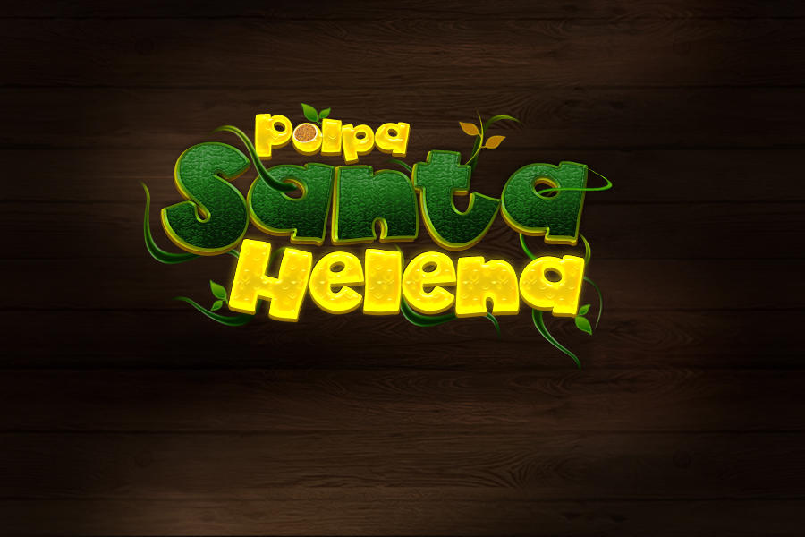 Logo Polpa de Fruta Sta Helena by kaedesign