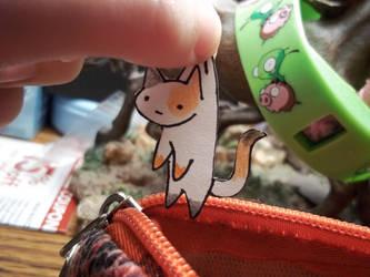 Simple Cat Paperchild by RazzmicBerry