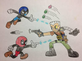 Cable Fight by bfulmore