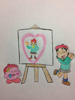Kirby's Panting by bfulmore