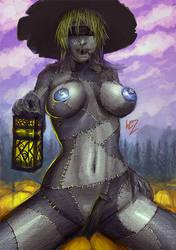 Happy Halloween 2012 - Scarecrow by W-E-Z