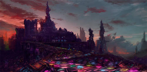 Castle New Arcadia Concept by W-E-Z
