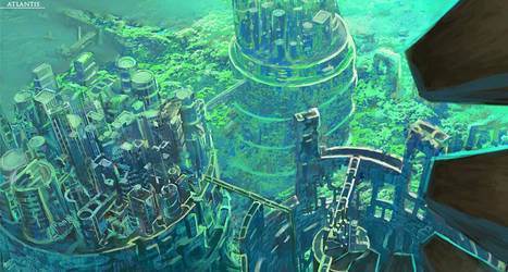 The Spiral Atlantis by W-E-Z