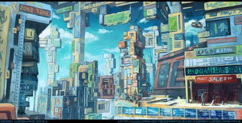 Funktropolis by W-E-Z