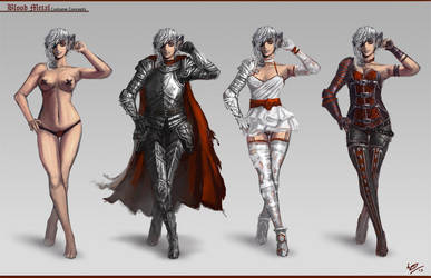 Blood Metal - Costume Concepts by W-E-Z