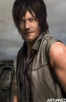 Daryl Dixon - The Walking Dead by W-E-Z