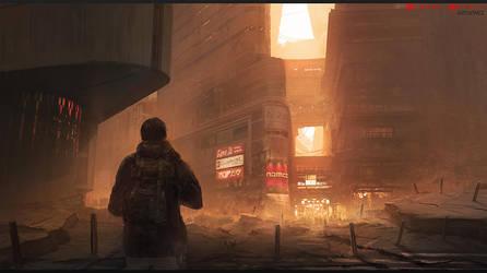 Broken Monday - The Dust of Osaka by W-E-Z