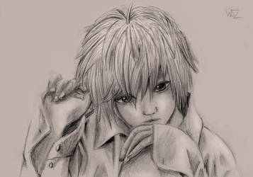 Near - Death Note - Realistic by W-E-Z