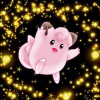 Clefairy's Sparkle Dance by BriBriBlitz