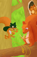 the squirrels by TrucEtBidule