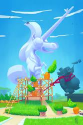 Trojan Horse was a Unicorn by TrucEtBidule