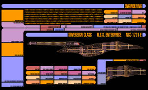 Master Systems Display - LCARS Wallpaper by kitface