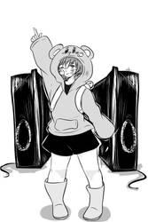 UTAU Maemi Renjiro Rolling girl (+cover link) by FujoshiAriaArt