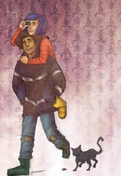 hunting for banana slugs by may12324