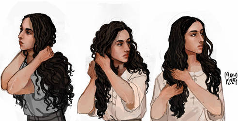 Naenia busts by may12324