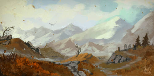 East of Whiterun by Pimsri