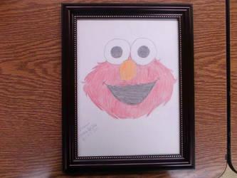 Elmo for Tori by MeliPixie