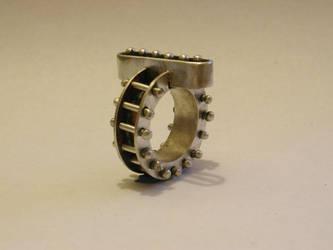 Sterling silver ring by generationwednesday