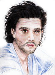 Kit Harington-Jon Snow-Game of Thrones (22-03-17) by xstorradax