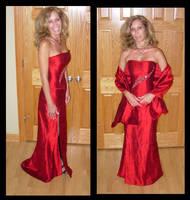 Corset Evening Gown by immortalphoenix