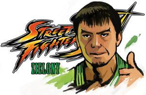 Street Fighter - Zieony by Kwad-rat