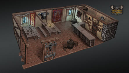 Let's build a Tavern - interior by Kwad-rat