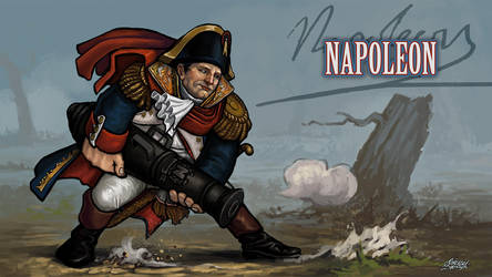 Super History Brawl: Time Warrior - Napoleon by Kwad-rat