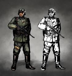 Darkest Soldier by Kwad-rat