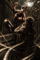 Spiderman by Atzinaghy