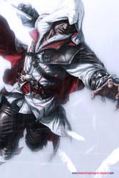 Ezio Auditore da Firenze by Atzinaghy