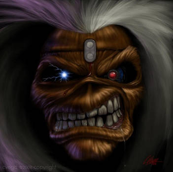 Iron Maiden's Eddie by cLos71