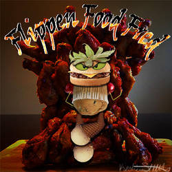 Flippen Food Fred by toad-says-hi